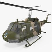 ベルUH-1イロコイカモ 3d model