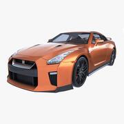 Nissan GT-R 2020 3d model