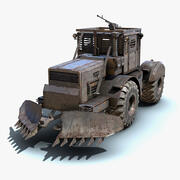 Apokalyptisk lastbil 02 3d model