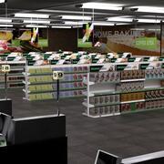 Supermercado Inglês 3d model