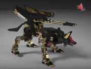 zoid wolf xx210 3d model