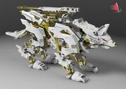 zoid wolf xx11 3d model