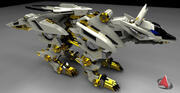 mirage fox xx321 3d model