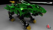 blade liger custom edition 3d model