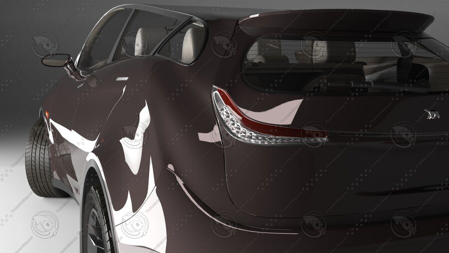 Luceat SUV Car Vehicle royalty-free 3d model - Preview no. 11