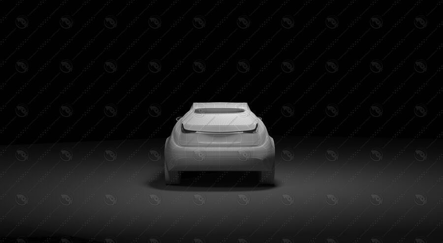 Luceat SUV Car Vehicle royalty-free 3d model - Preview no. 22