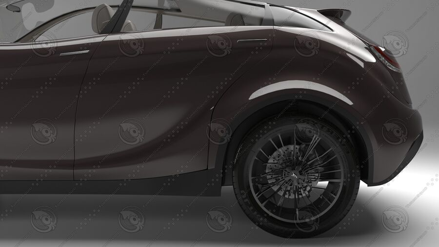 Luceat SUV Car Vehicle royalty-free 3d model - Preview no. 9