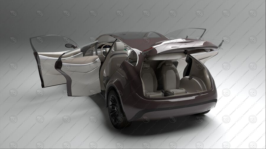 Luceat SUV Car Vehicle royalty-free 3d model - Preview no. 8