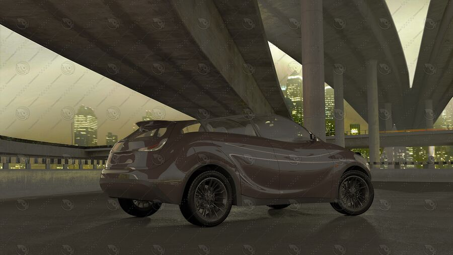 Luceat SUV Car Vehicle royalty-free 3d model - Preview no. 13
