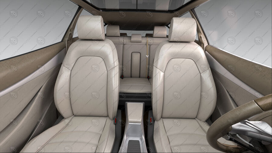 Luceat SUV Car Vehicle royalty-free 3d model - Preview no. 17
