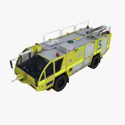 Camion de pompier Rosenbauer 4x4 Australie 3d model