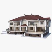 Dom 2 piętro 3d model