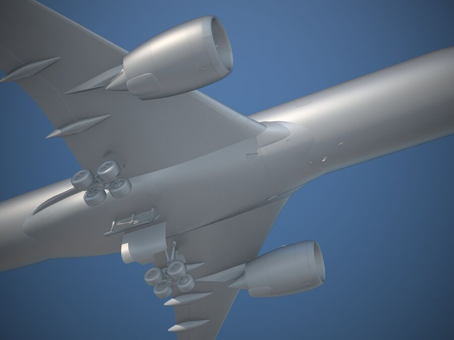 Avião a jato genérico royalty-free 3d model - Preview no. 15