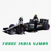 Force India VJM09 3d model