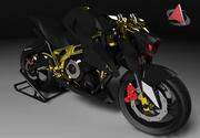 コンセプトバイク 3d model