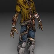 Zombie 1 3d model