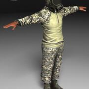 soldat 3d model