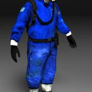 科学者 3d model