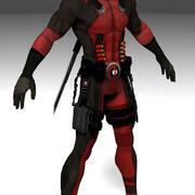 red rangger 3d model