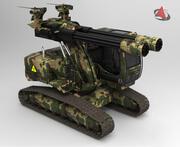 爆撃機 3d model