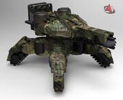 arma de fuego xx843 modelo 3d