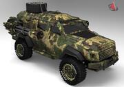 反乱軍xx562 3d model