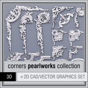 Pearlworks Corners collectie 3d model