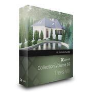 CGAxis Models Volume 69 Trees VIII 3d model