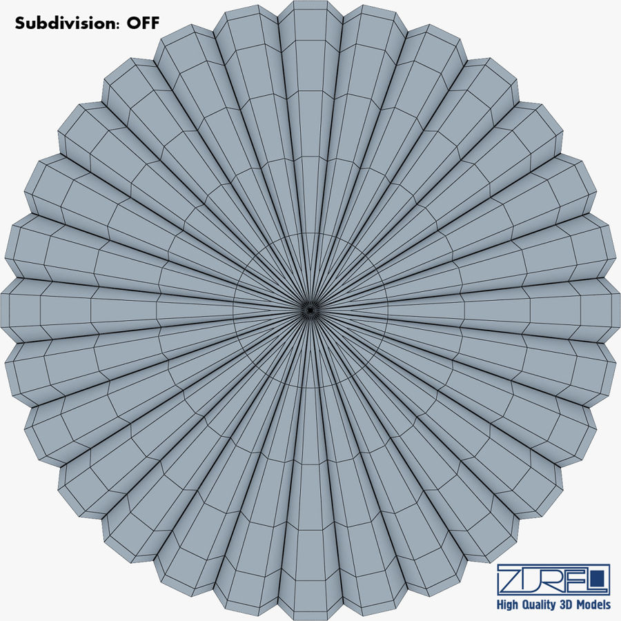 Hete luchtballon v 1 royalty-free 3d model - Preview no. 16