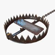 Trappola animale 3d model
