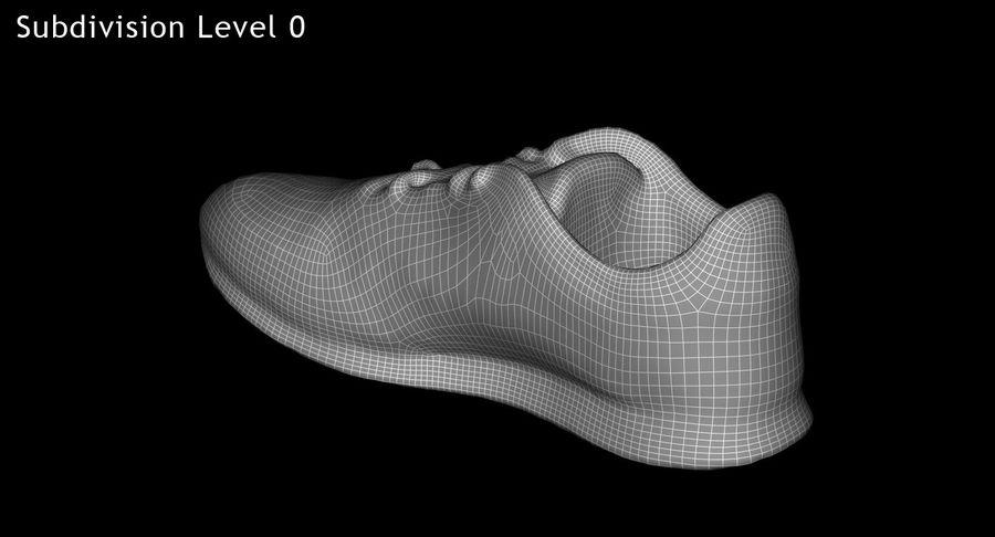 Reebok Sneaker 1 royalty-free 3d model - Preview no. 15