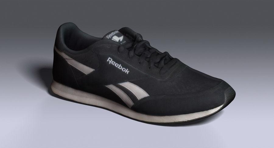 Reebok Sneaker 1 royalty-free 3d model - Preview no. 3