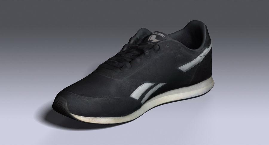 Reebok Sneaker 1 royalty-free 3d model - Preview no. 9