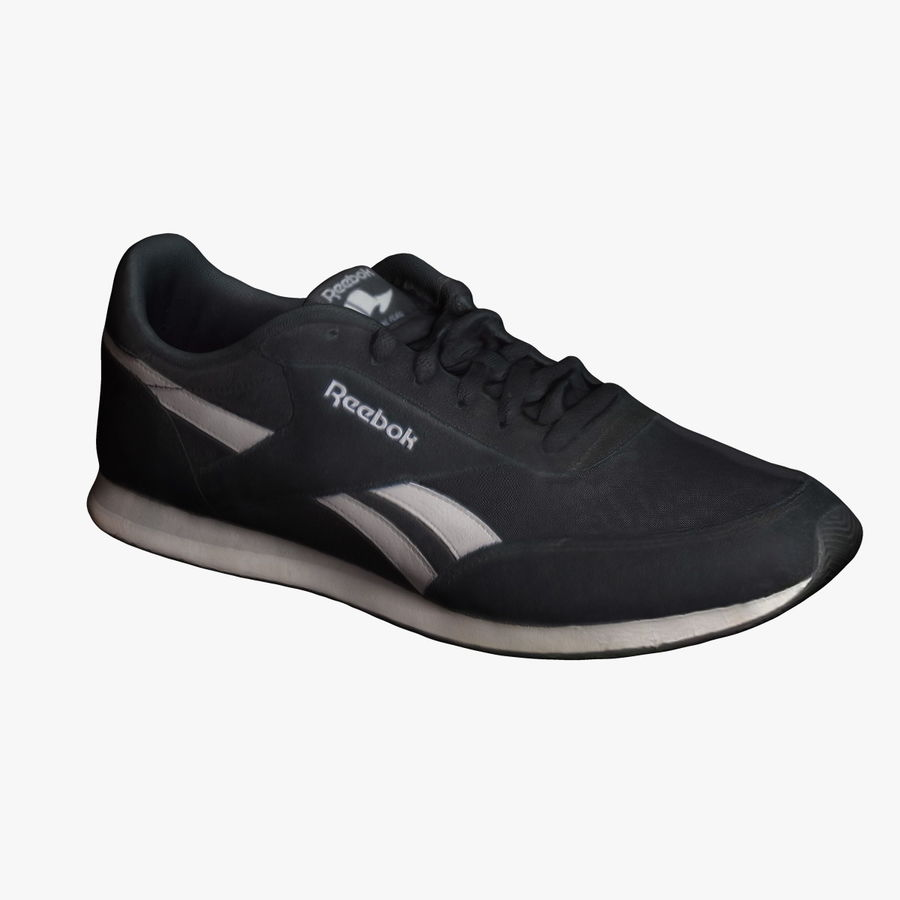 Reebok Sneaker 1 royalty-free 3d model - Preview no. 1