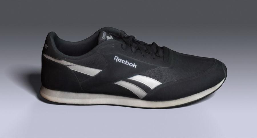 Reebok Sneaker 1 royalty-free 3d model - Preview no. 4