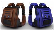 Мультфильм рюкзак 3d model