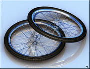 Bicycle Tires 3d model