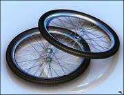 Велосипедные шины 3d model