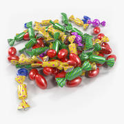 Colorful Candy Pile 3d model