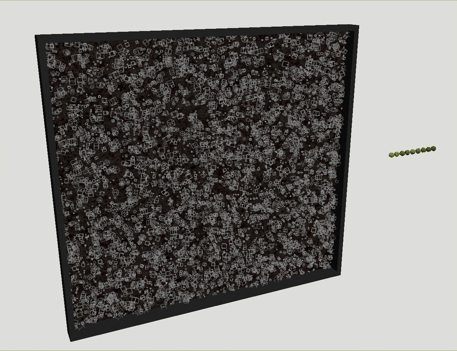 Moss Wall (Scatterable) royalty-free 3d model - Preview no. 10