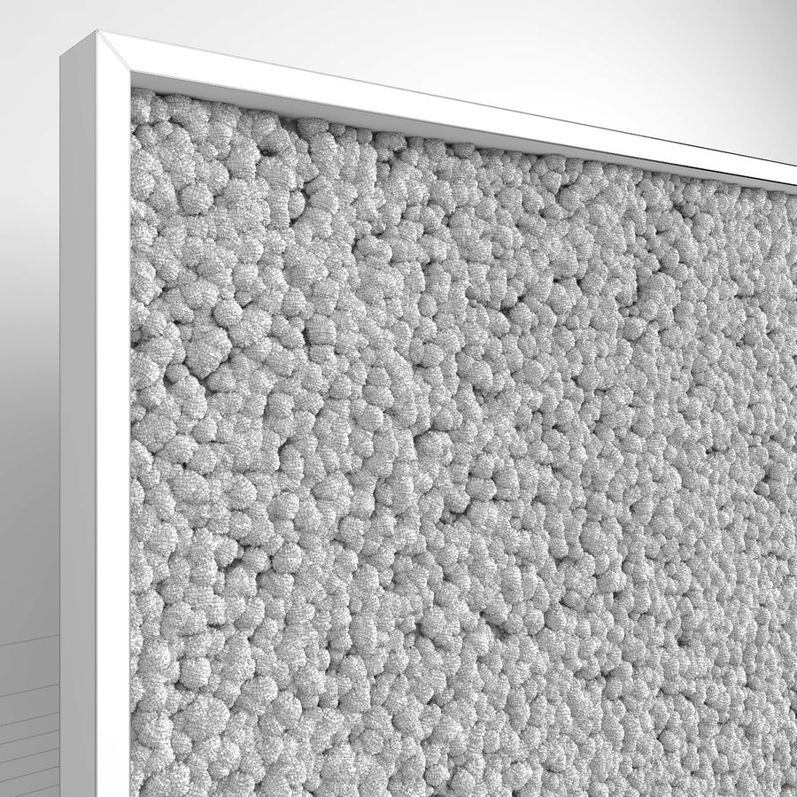 Moss Wall (Scatterable) royalty-free 3d model - Preview no. 14