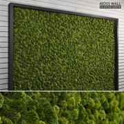 Moss Wall (Scatterable) 3d model
