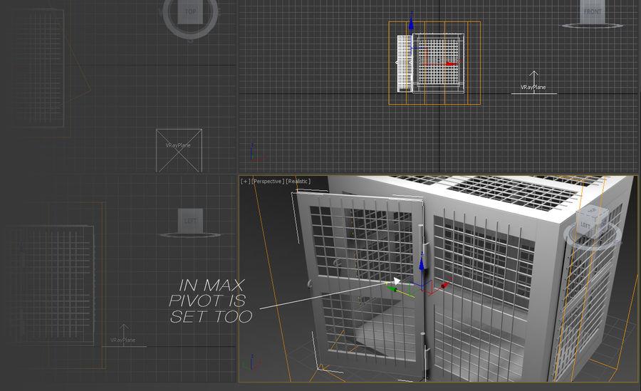 笼 royalty-free 3d model - Preview no. 13