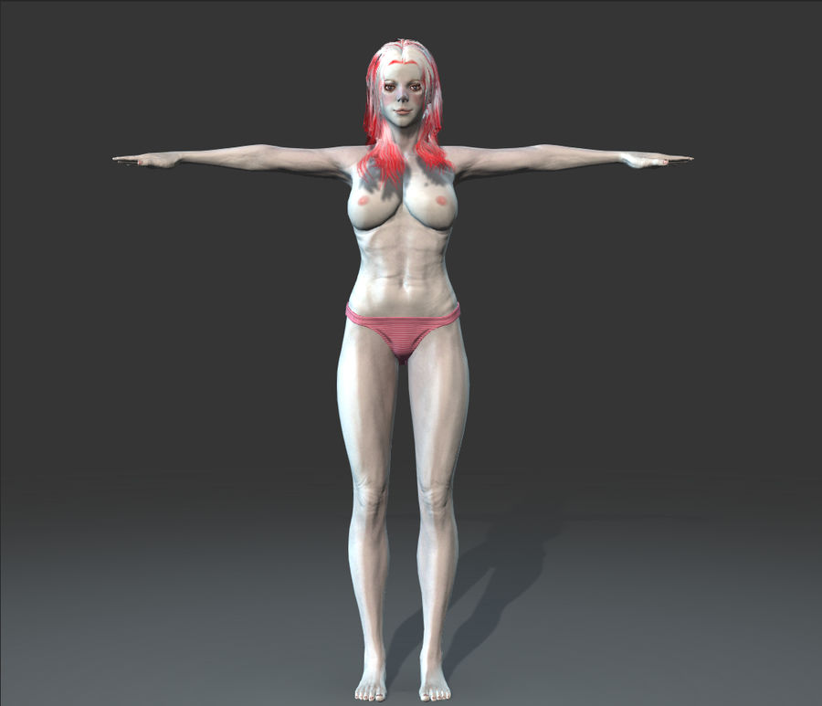 可愛い royalty-free 3d model - Preview no. 3