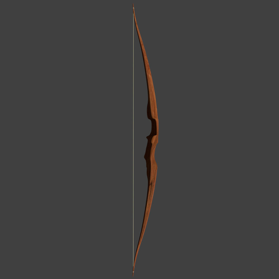 Bow and Arrows royalty-free 3d model - Preview no. 17