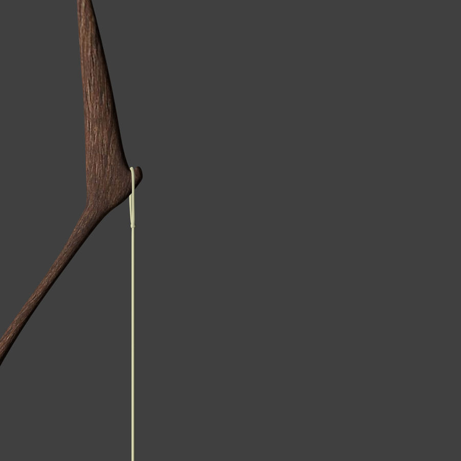 Bow and Arrows royalty-free 3d model - Preview no. 14