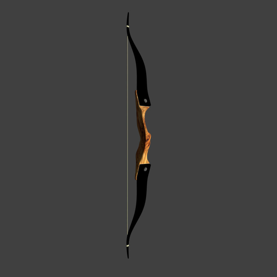 Bow and Arrows royalty-free 3d model - Preview no. 18