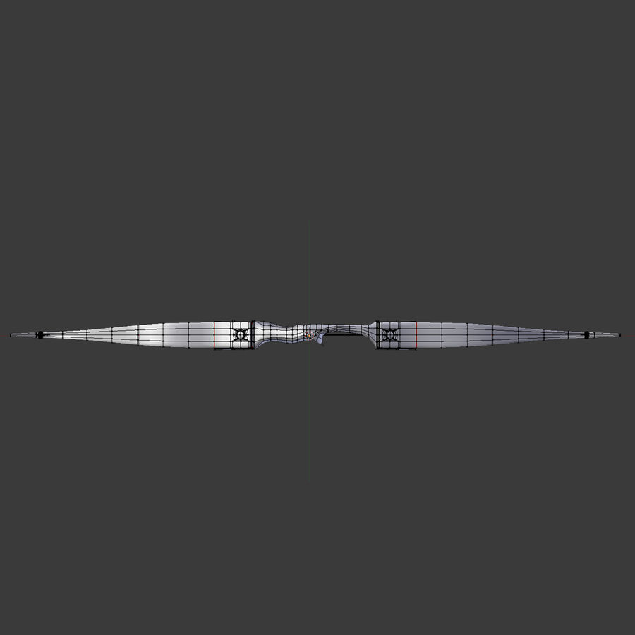 Bow and Arrows royalty-free 3d model - Preview no. 13