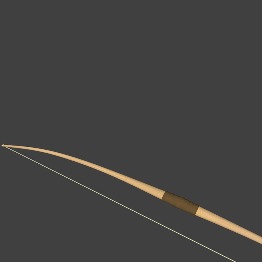 Bow and Arrows royalty-free 3d model - Preview no. 16