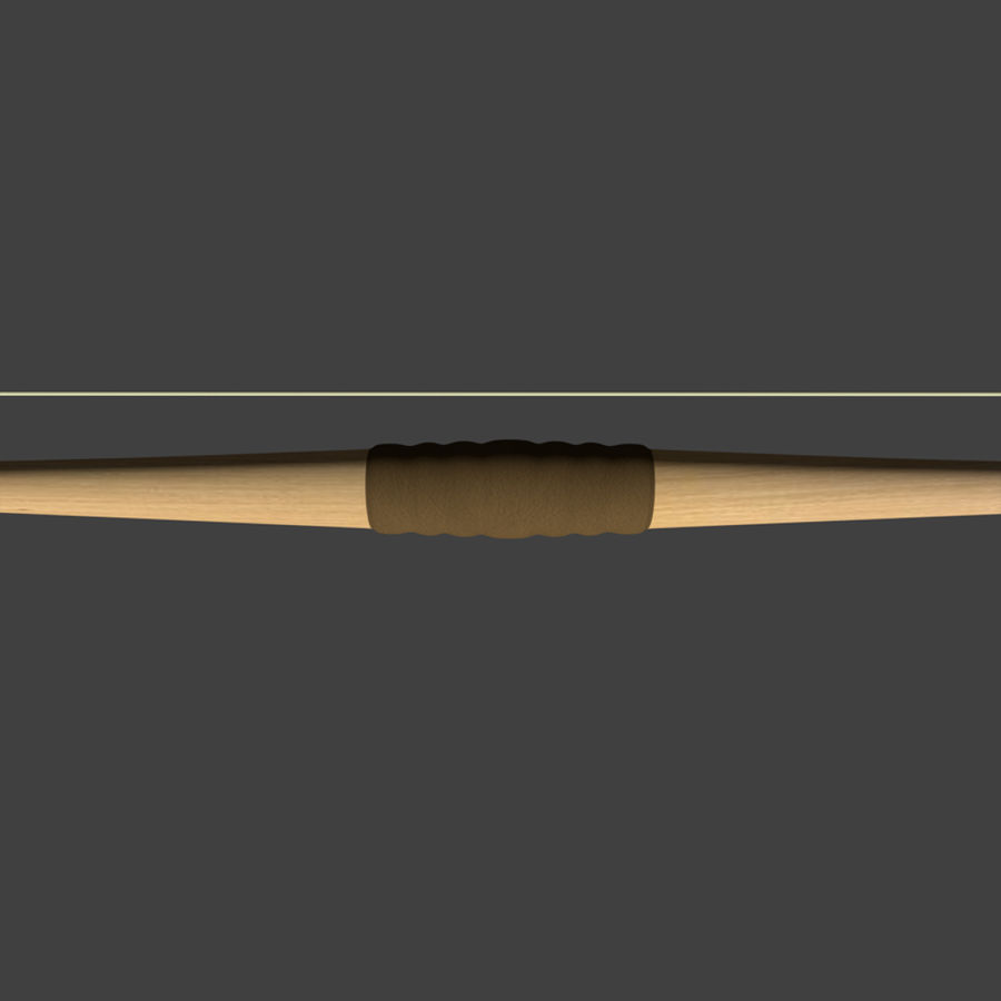 Bow and Arrows royalty-free 3d model - Preview no. 6